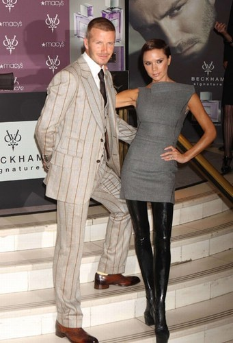 Photo:  Victoria Adams and David Beckham 6