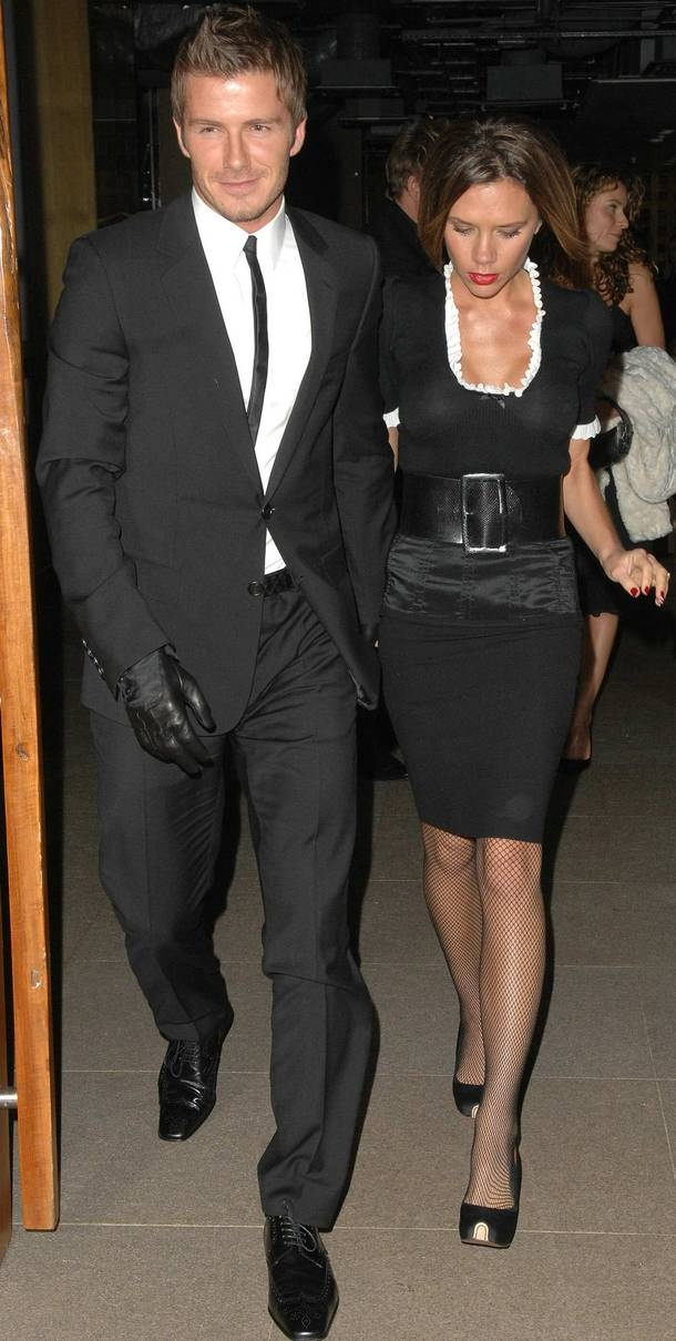 Photo:  Victoria Adams and David Beckham 7