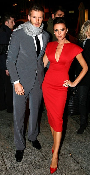 Photo:  Victoria Adams and David Beckham 8