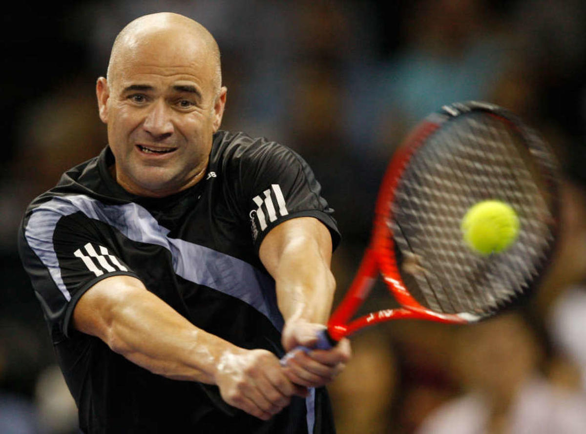 Photo:  Andre Agassi 01