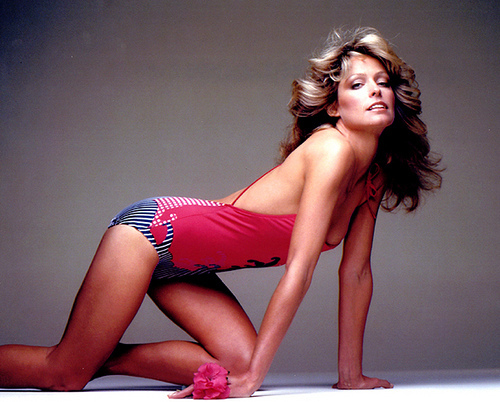 Photo:  Farrah Fawcett 04