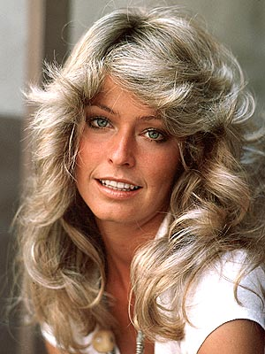 Photo:  Farrah Fawcett 07