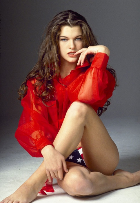 Photo:  Milla Jovovich 01