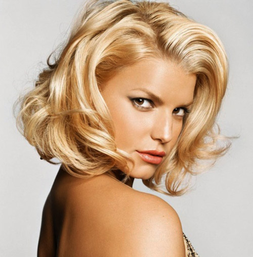 Jessica Simpson Blonde Hair 2014