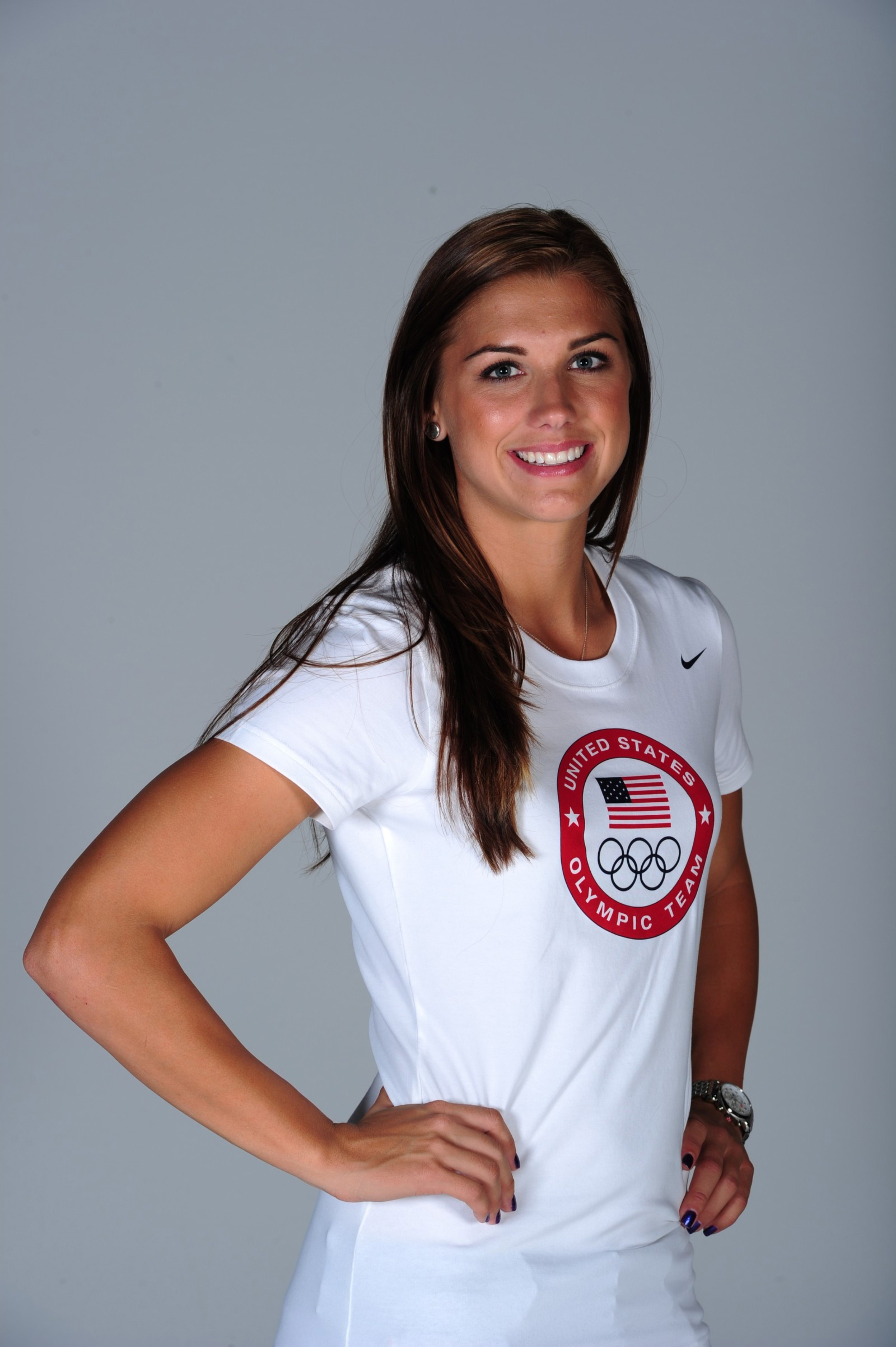Alex morgan and hope solo body paint