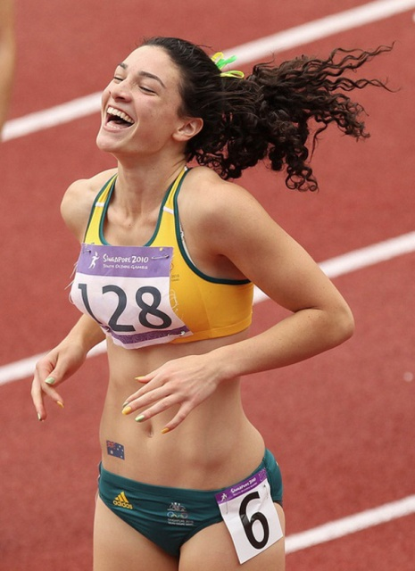 Photo:  Michelle Jenneke 2