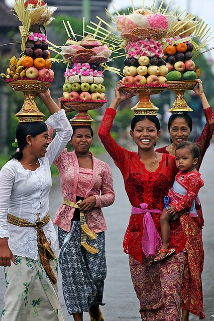 Photo:  Balinese ladies