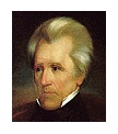 Photo:  Andrew Jackson, 7th President of the United States (2 terms)