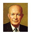 Photo:  Dwight David Eisenhower, 34th President of the United States (2 terms)