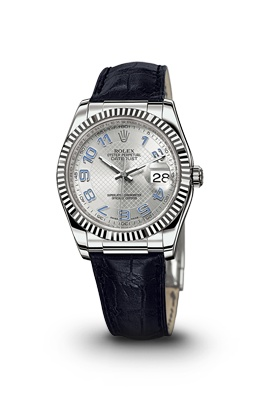 Photo:  DATEJUST WATCH IN WHITE GOLD