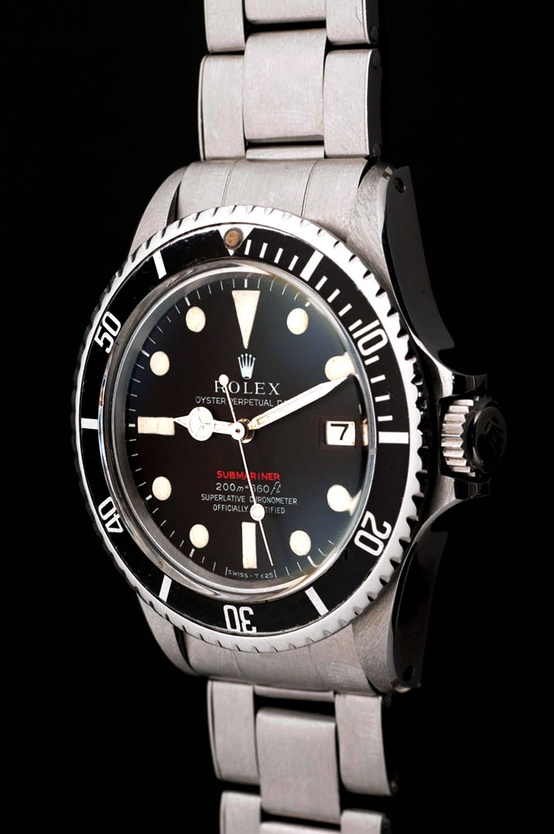 Photo:  Red Rolex Submariner