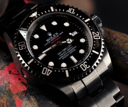 Photo:  Rolex Sea Dweller DeapSea Prohunter