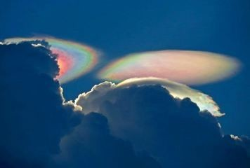 Photo:  A 'fire rainbow' over South Florida.