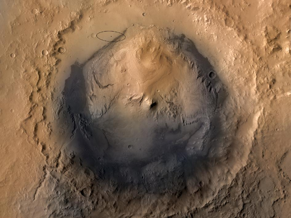 Photo:  Mars Gale Crater