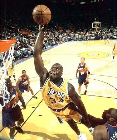 Photo:  Shaquille O'Neal