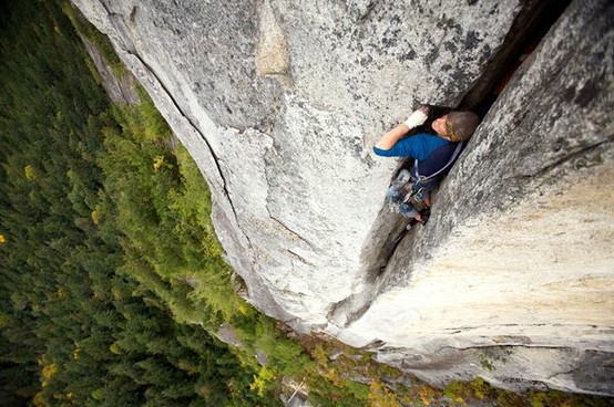 Photo:  Climbing Near Squamish, British Columbia, Canada