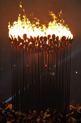 Photo:  London 2012 Olympic Cauldron