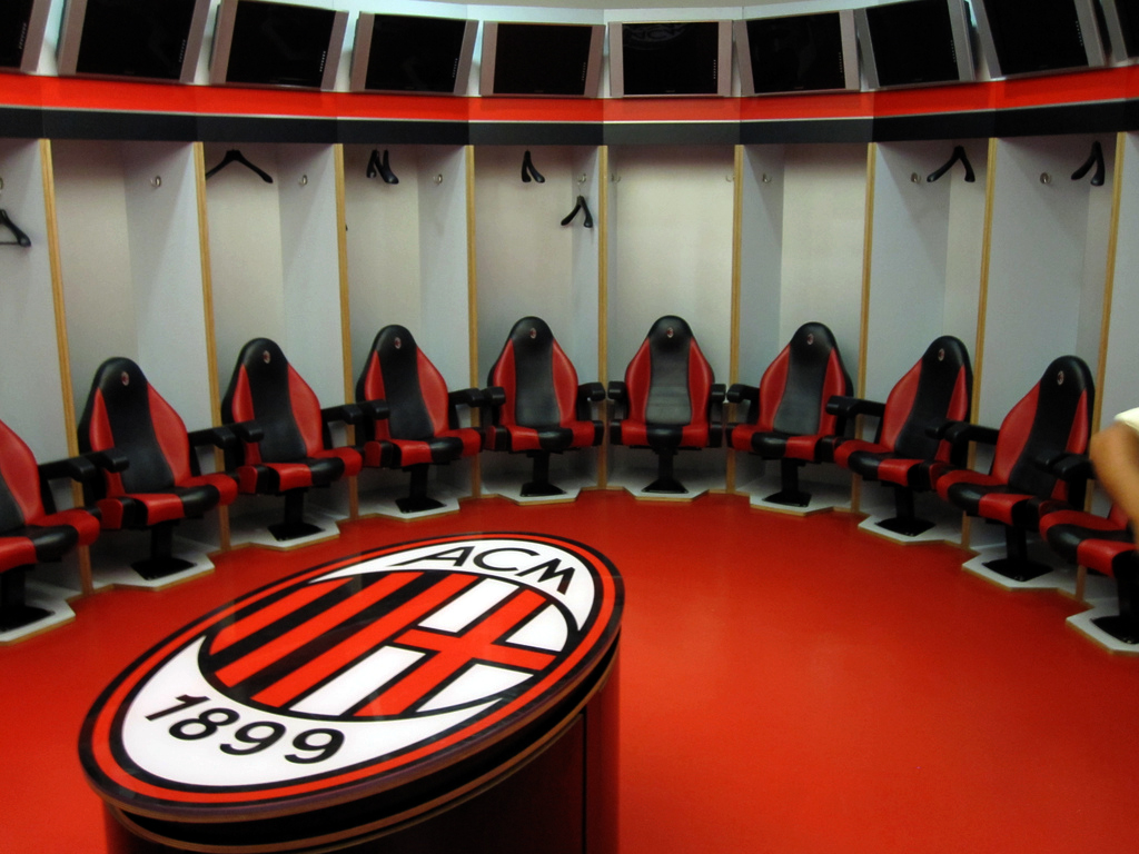 Photo:  AC_Milan_dressing_room