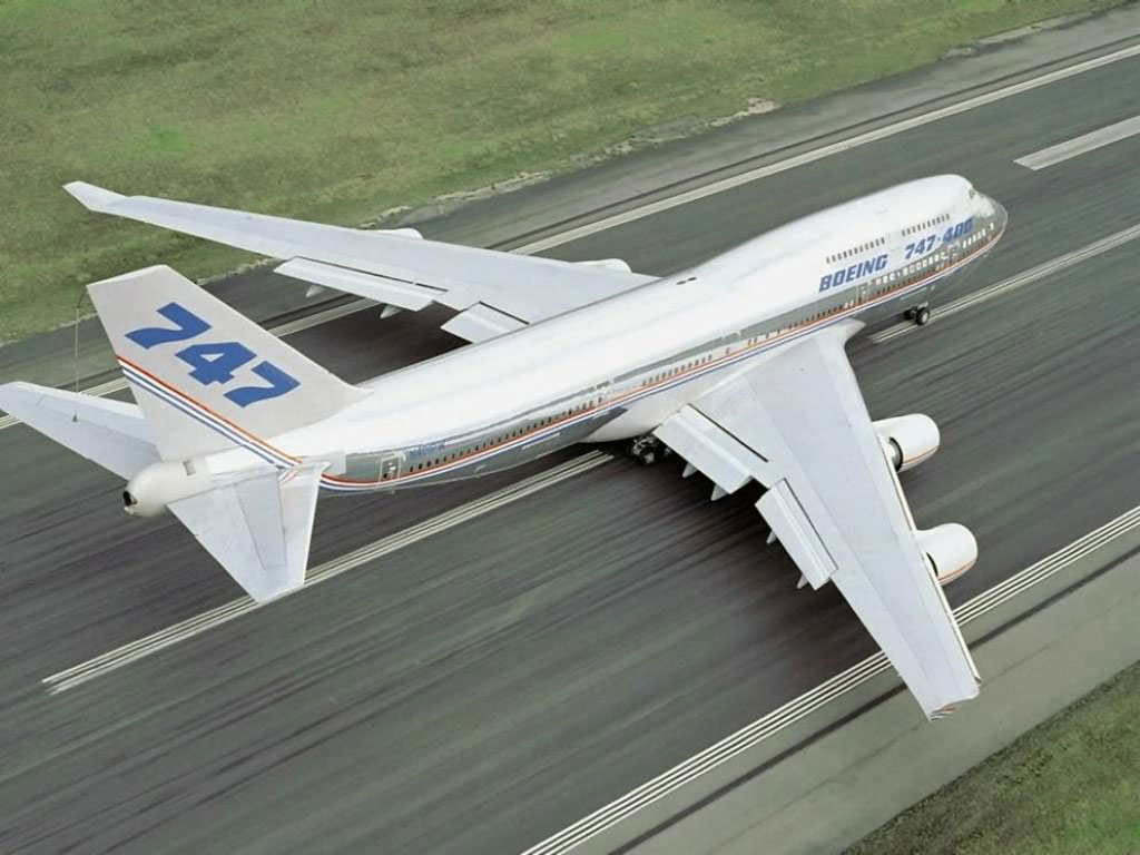 Photo:  Boing 747