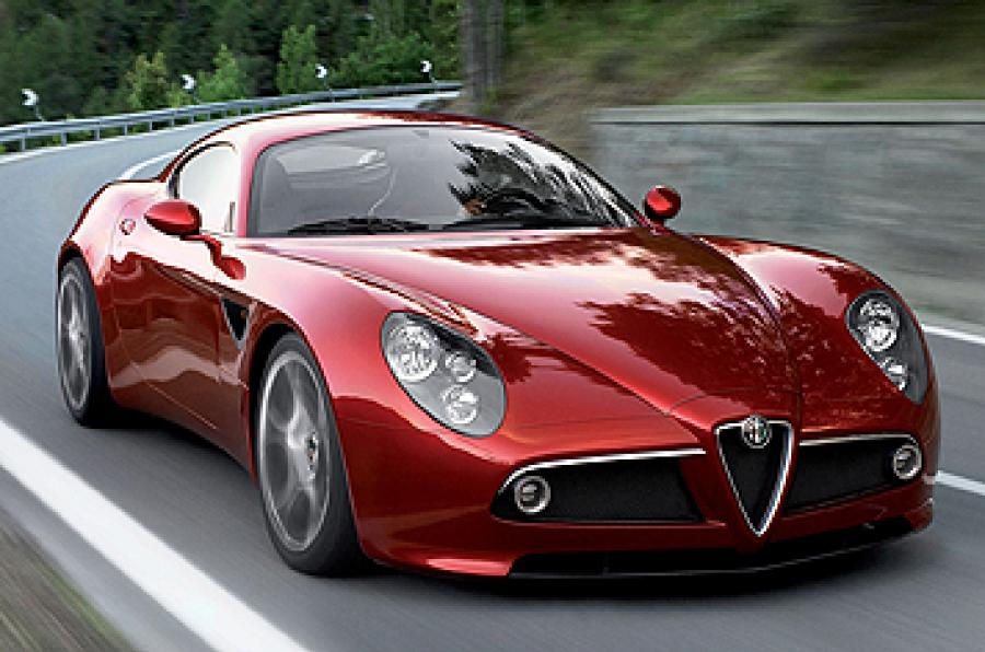 Photo:  alfa romeo 8c 444