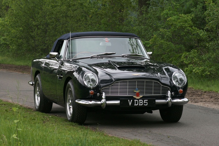 Photo:  1965 Aston Martin DB5 Vantage Convertible
