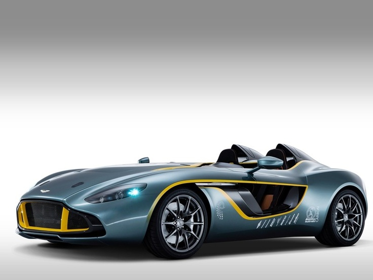 Photo:  Aston Martin CC100 built in homage to the legendary DBR1 racer celebrating 100 years