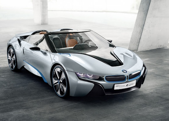 Photo:  BMW Concepts BMW i8 Concept Spyder