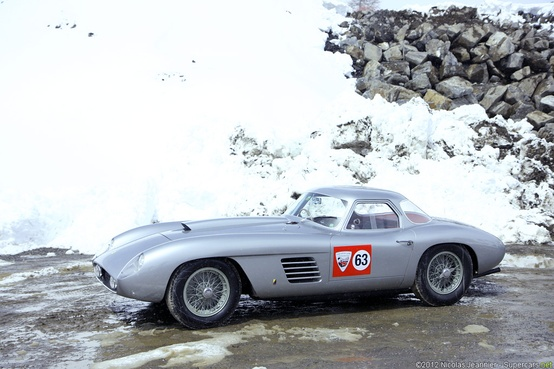 Photo:  1954 Ferrari 375 MM Coupe Scaglietti