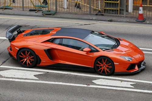 Photo:  Lamborghini Aventador LP700