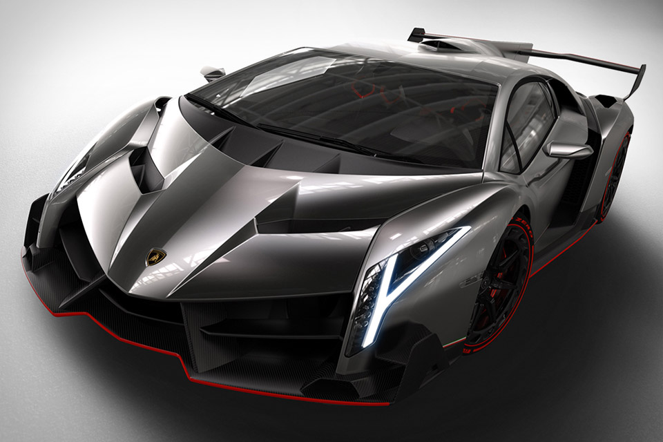 Photo:  Lamborghini Veneno front 7