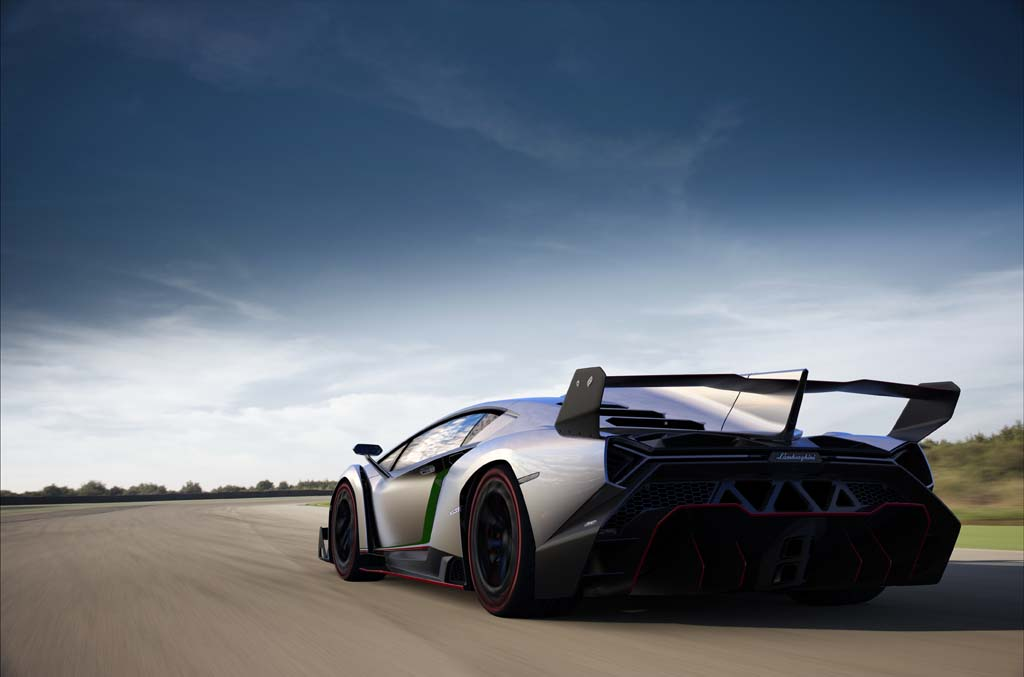 Photo:  Lamborghini Veneno on