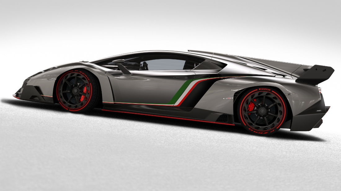 Photo:  Lamborghini veneno side