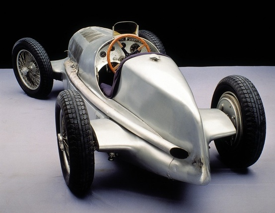 Photo:  1937 Mercedes Ben Silver Arrow W 125