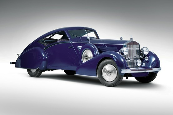 Photo:  1937 Rolls Royce Phantom III Aero Coupe