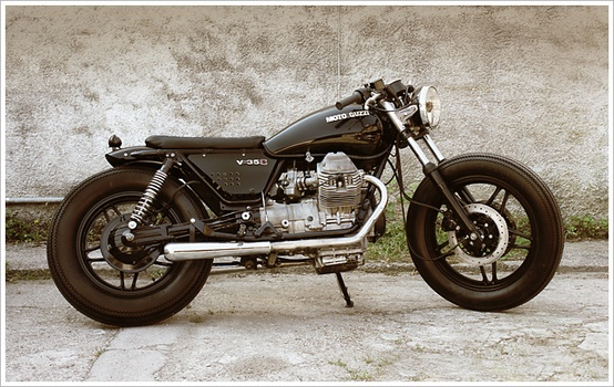 Photo:  1987 Moto Guzzi V35 C
