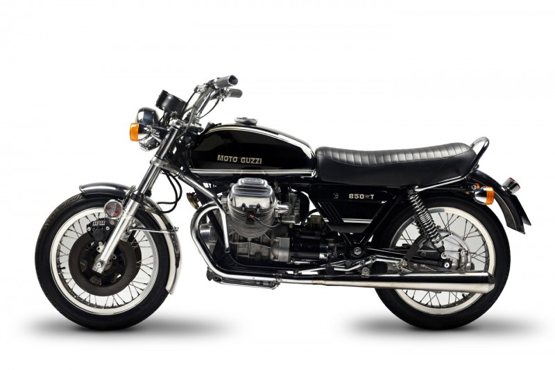 Photo:  Moto Guzzi 850T 1974