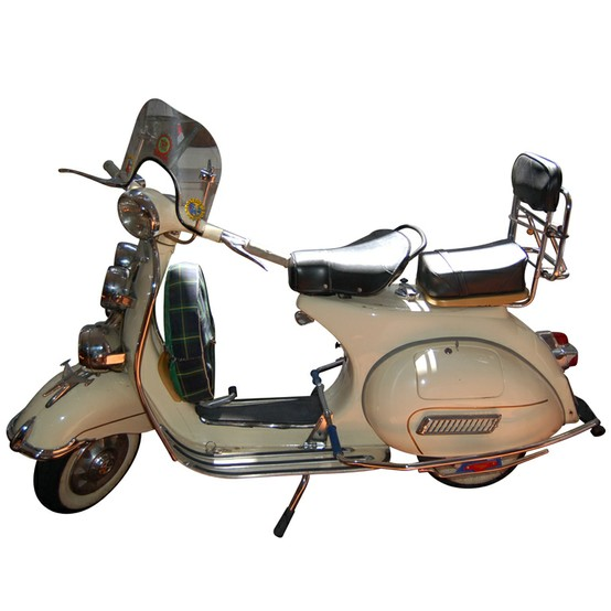 Photo:  1964 VNB Vespa