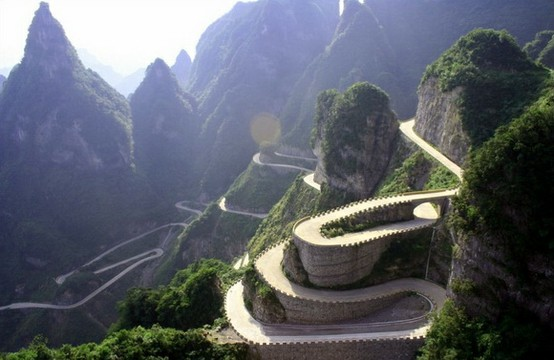 Photo:  Avenue Toward Heaven, Hunan Province, China