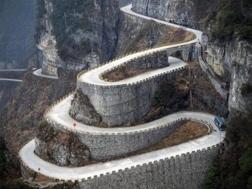 Photo:  Hairpin Highway, Austria
