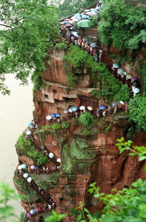 Photo:  Leshan Happy Mountain