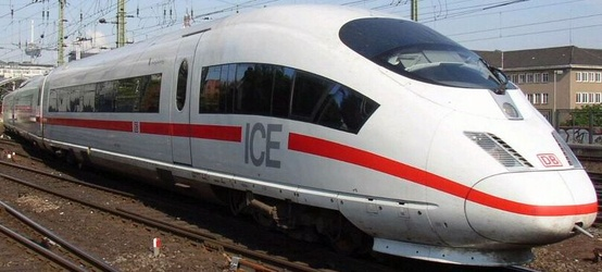 Photo:  German ICE bullet train