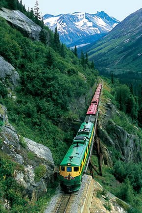 Photo:  Skagway, Alaska White Pass