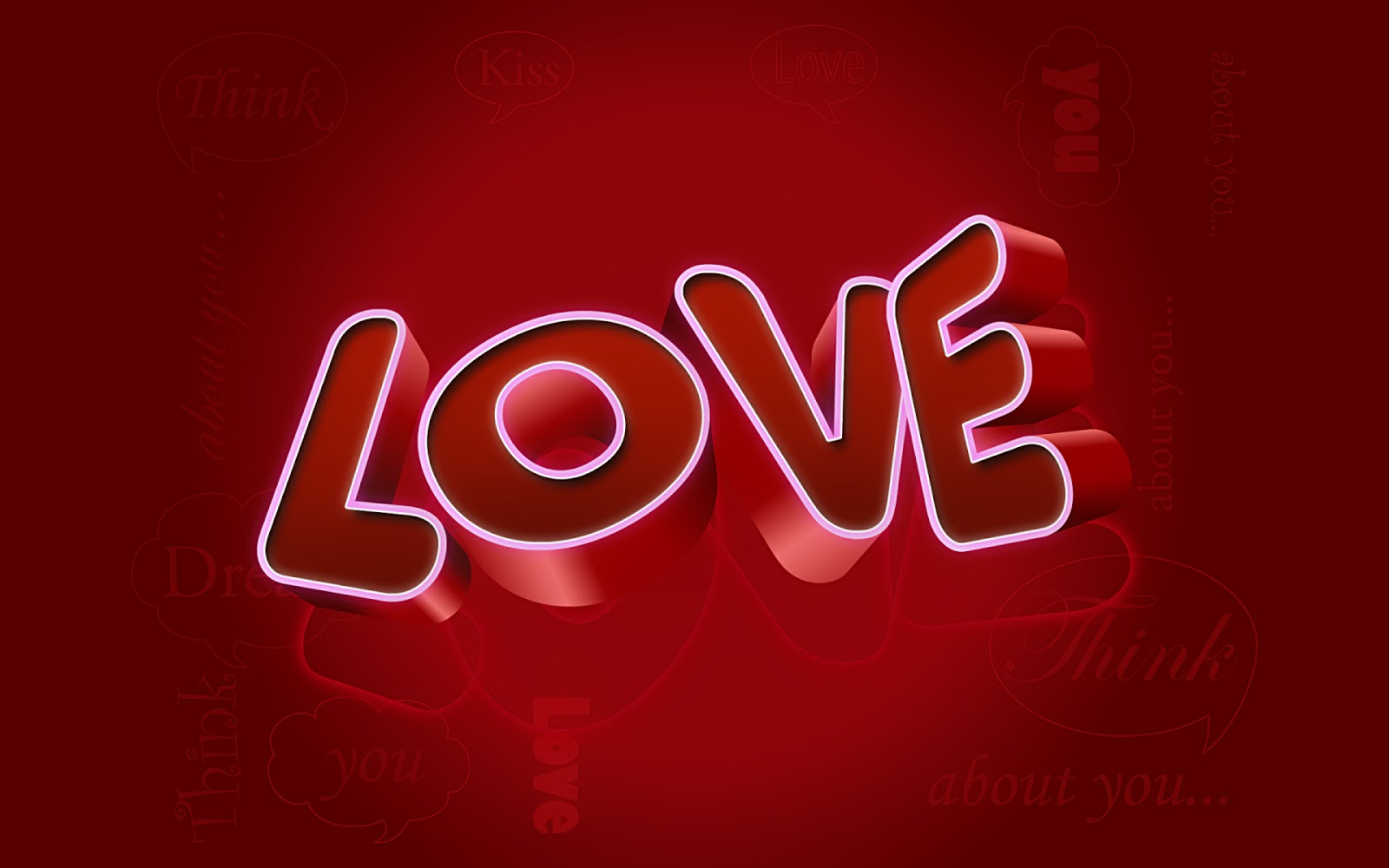 Photo:  3d-red-love-background-wallpaper