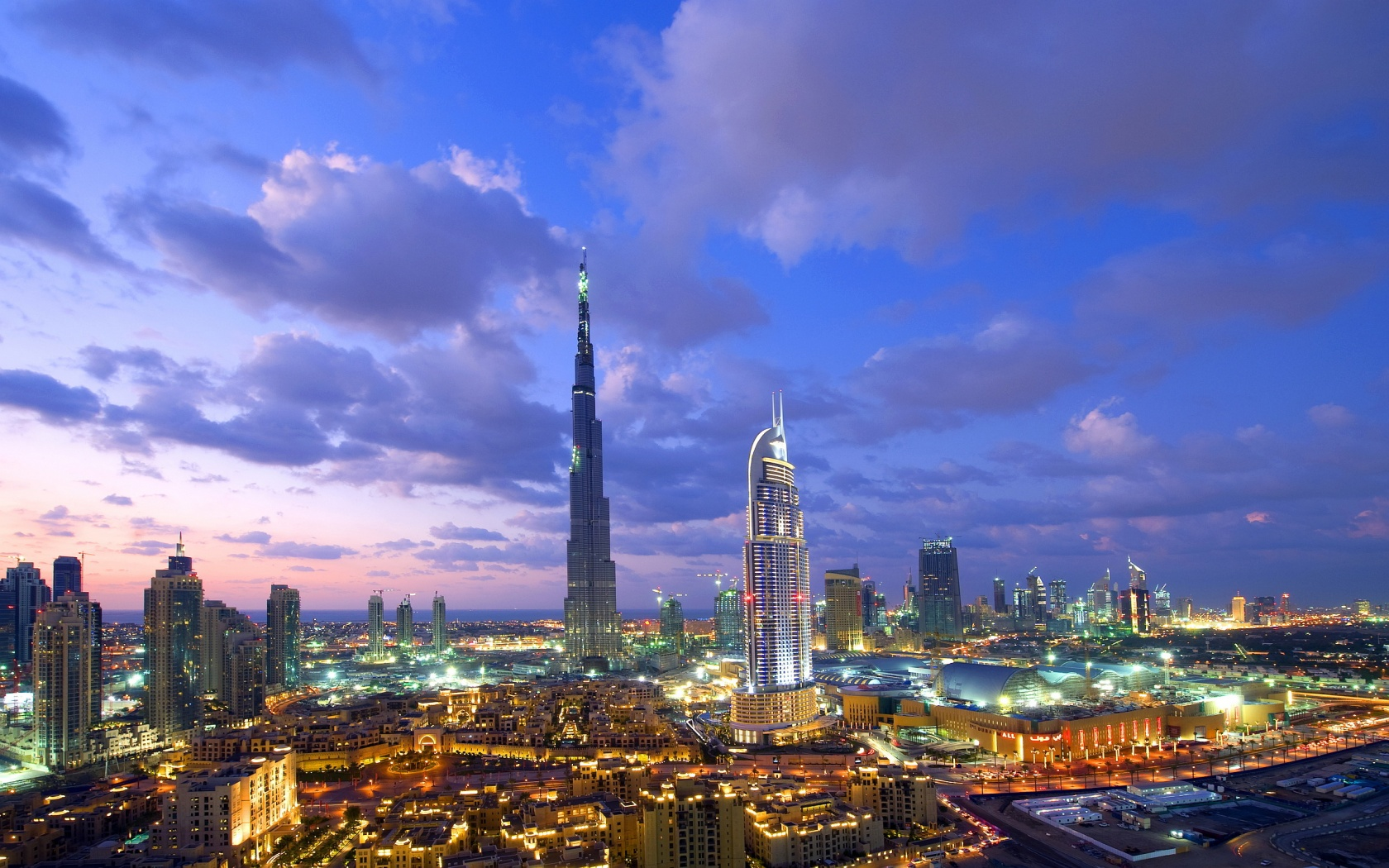 Photo:  1680x1050 Wallpaper  Burj Khalifa