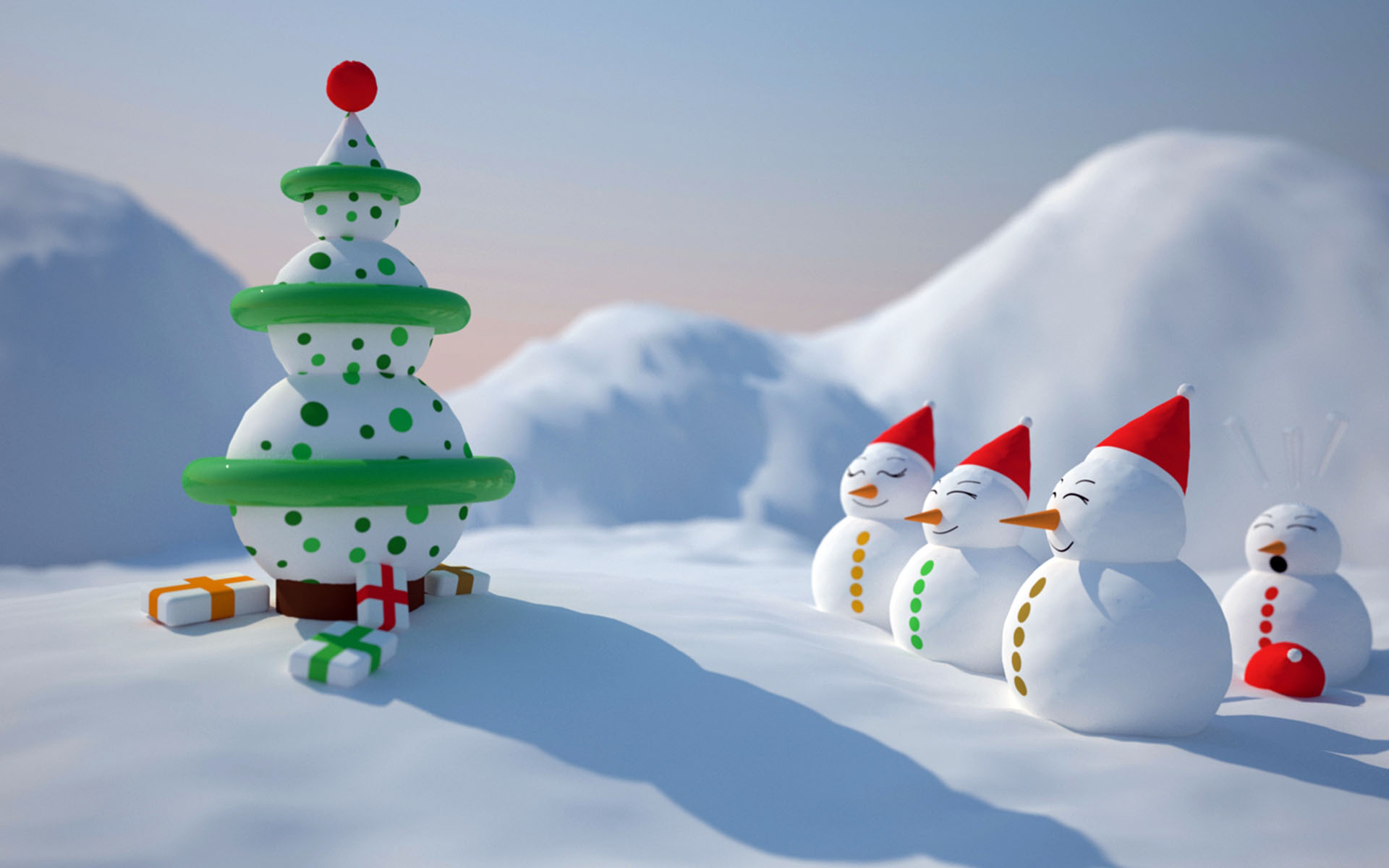 Photo:  Christmas wallpaper 06