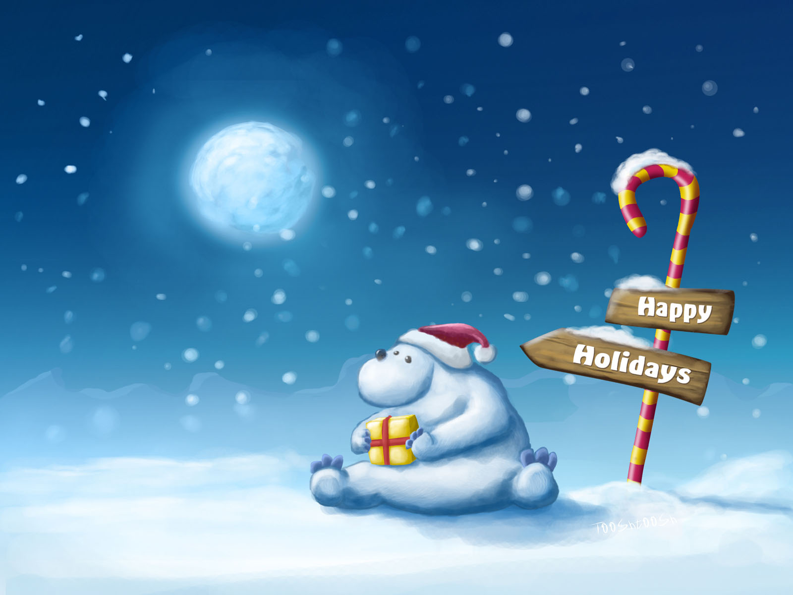 Photo:  Christmas wallpaper 09