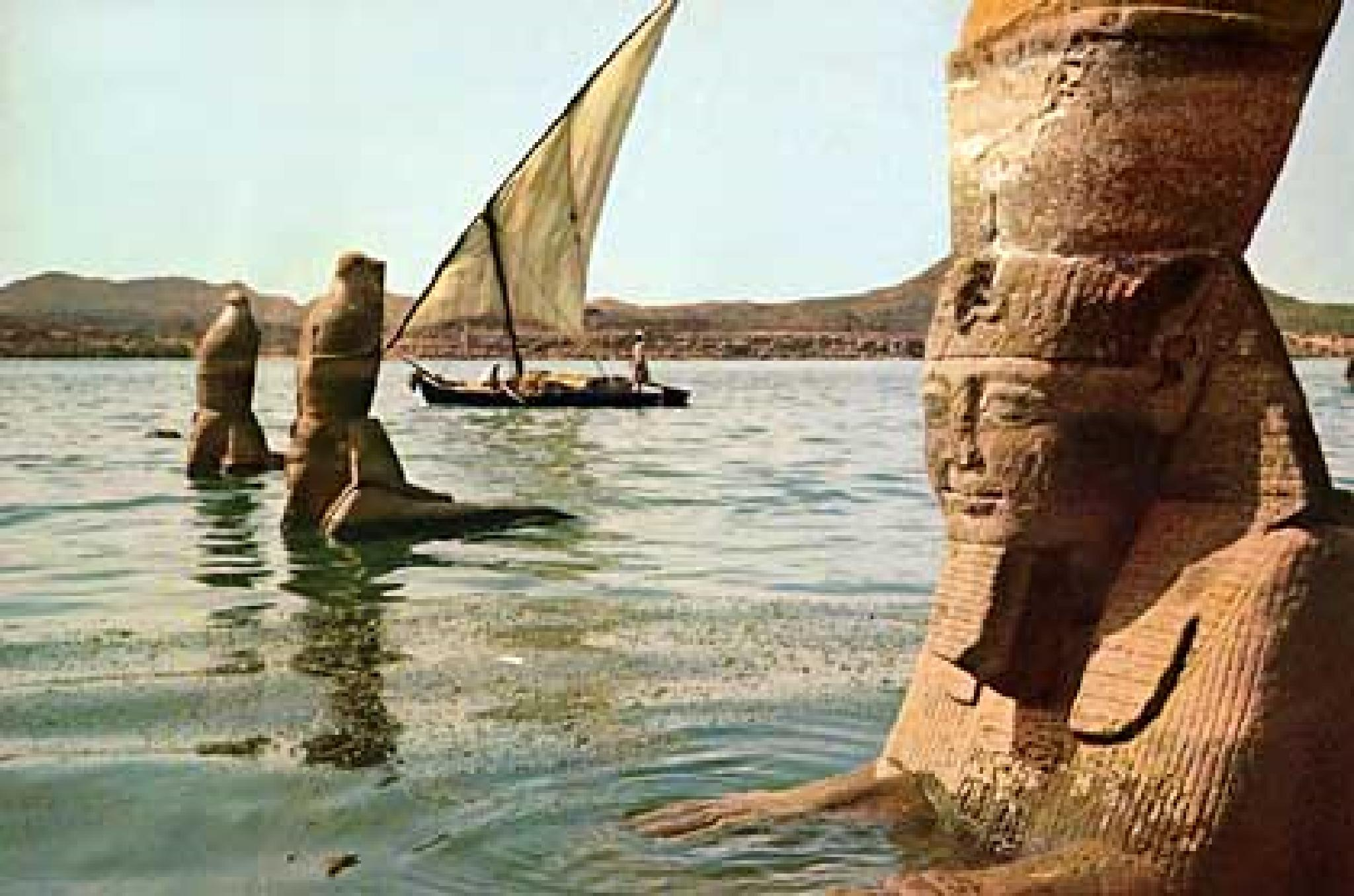 Photo:  egypt from the sea