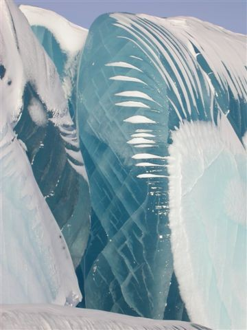 Photo:  Antarctic Ice Wave