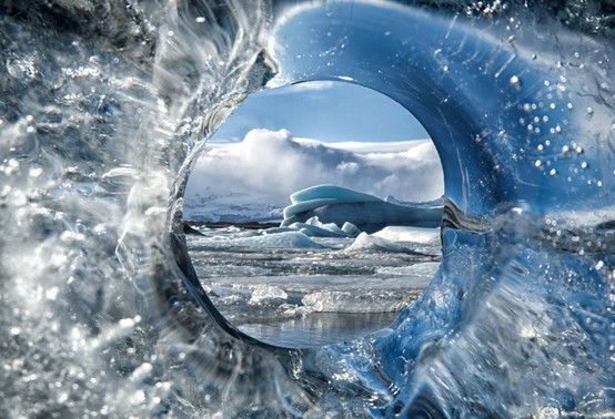 Photo:  Circle of ice