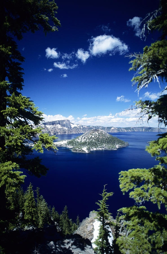 Photo:  Crater Lake National Park, Oregon